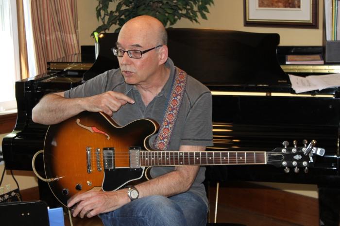 Ten Questions for Jazz Guitarist TedQuinlan